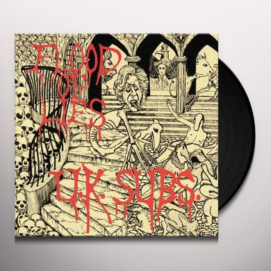 U.K. Subs FLOOD OF LIES Vinyl Record