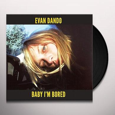 Evan Dando BABY I'M BORED Vinyl Record