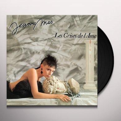 Jeanne mas LES CRISES DE L AME Vinyl Record