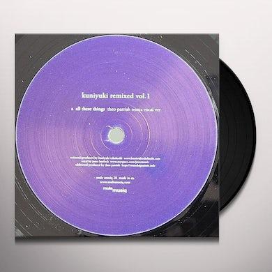 Kuniyuki REMIXED VOL1 (THEO PARRISH REMIXES Vinyl Record