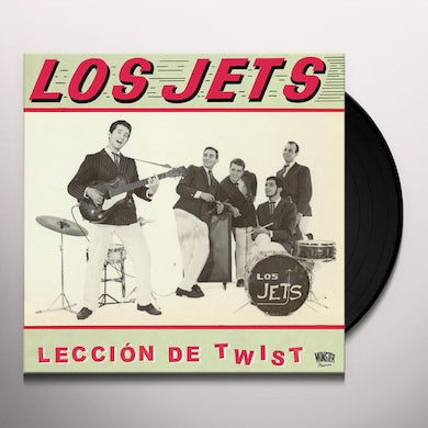 Jets LECCION DE TWIST Vinyl Record
