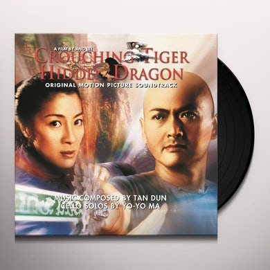 CROUCHING TIGER HIDDEN DRAGON / O.S.T.  CROUCHING TIGER HIDDEN DRAGON / Original Soundtrack Vinyl Record - Holland Release