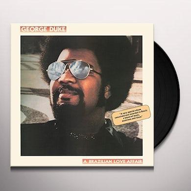 George Duke BRAZILIAN LOVE AFFAIR Vinyl Record