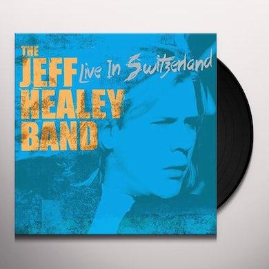 Jeff Healey LIVE IN SWITZERLAND Vinyl Record