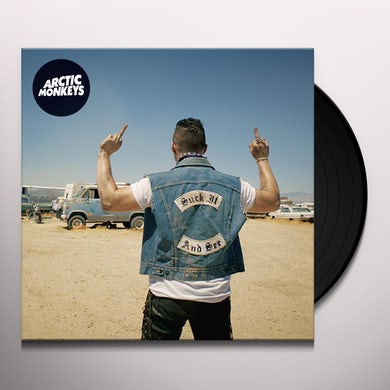 Arctic Monkeys SUCK IT AND SEE Vinyl Record