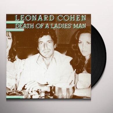 Leonard Cohen DEATH OF A LADIES MAN Vinyl Record
