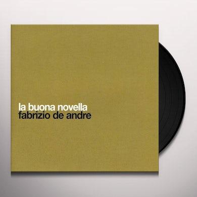 Fabrizio De Andre LA BUONA NOVELLA Vinyl Record