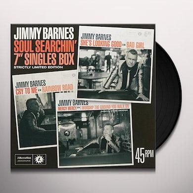 Jimmy Barnes SOUL SEARCHIN: 7IN SINGLES BOX Vinyl Record