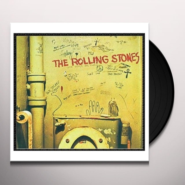 The Rolling Stones BEGGARS BANQUET Vinyl Record - Remastered
