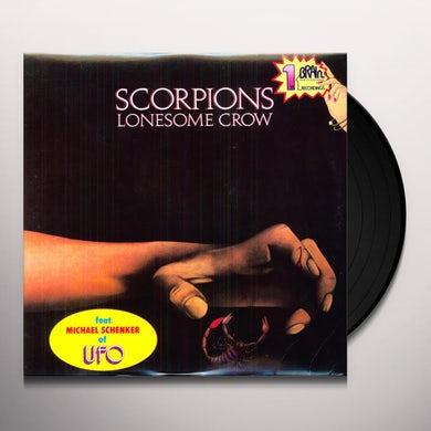 Scorpions LONESOME CROW Vinyl Record
