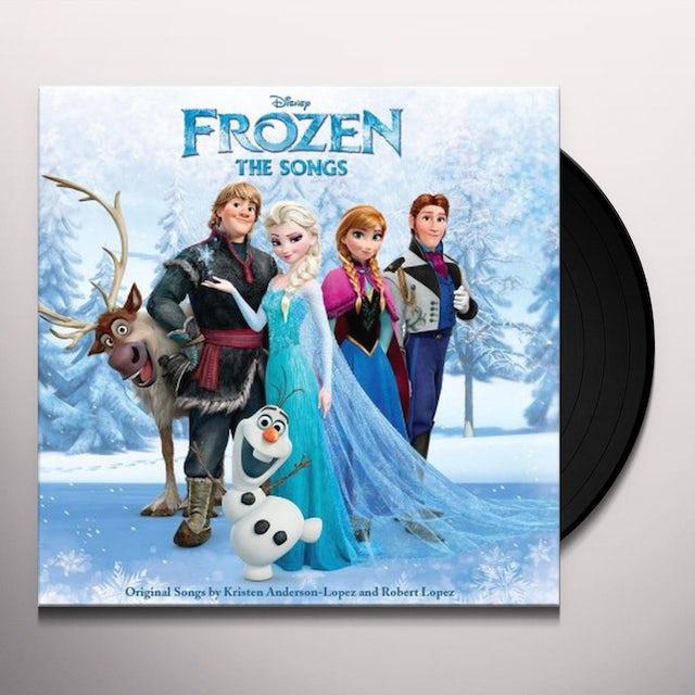 FROZEN: THE SONGS / VARIOUS Vinyl Record