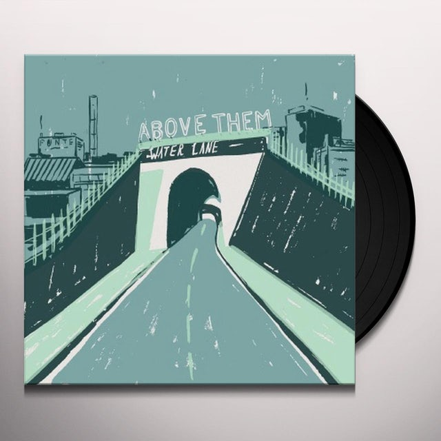 Above Them WATER LANE Vinyl Record - UK Release