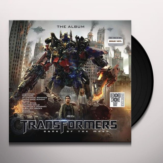 Transformers Dark Of The Moon - The Album / Var