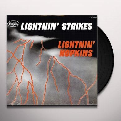 Lightnin Hopkins LIGHTNIN STRIKES Vinyl Record