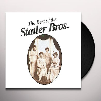Statler Brothers BEST OF (FLOWERS ON THE WALL) Vinyl Record