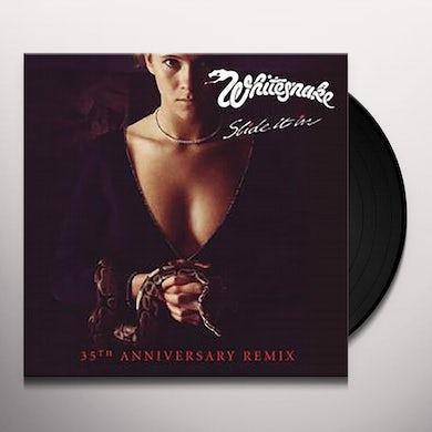 Whitesnake SLIDE IT IN (35TH ANNIVERSARY REMIX) Vinyl Record