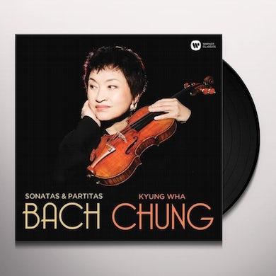 Kyung-Wha Chung BACH: VIOLIN SONATAS & PARTITAS Vinyl Record