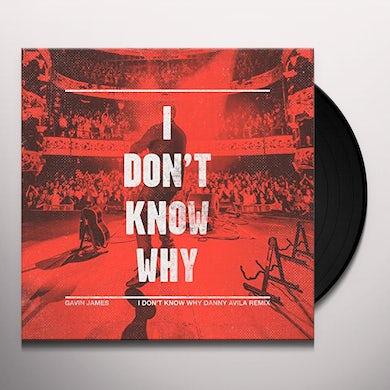 Gavin James I DON'T KNOW WHY Vinyl Record