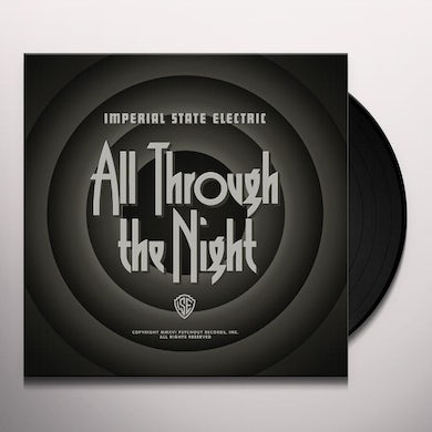 ALL THROUGH THE NIGHT (WHITE) Vinyl Record
