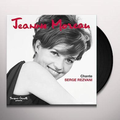 Jeanne Moreau CHANTE SERGE REZVANI Vinyl Record