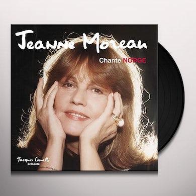 Jeanne Moreau CHANTE NORGE Vinyl Record