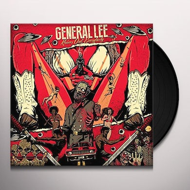 General Lee KNIVES OUT: EVERYBODY Vinyl Record