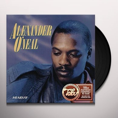 Alexander O'Neal HEARSAY Vinyl Record