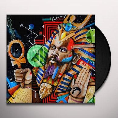 Ras G BACK ON THE PLANET Vinyl Record