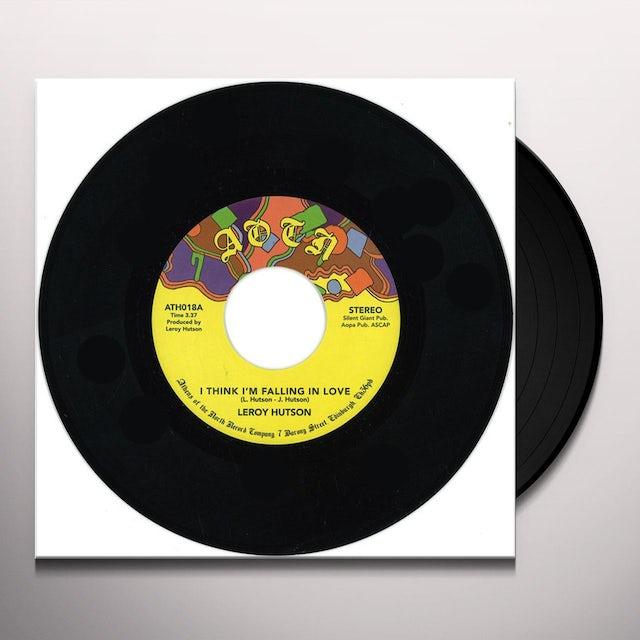 Leroy Hutson I THINK I'M FALLING IN LOVE Vinyl Record