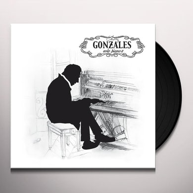 Chilly Gonzales SOLO PIANO III Vinyl Record