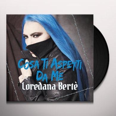 Loredana Berte COSA TI ASPETTI DA ME Vinyl Record