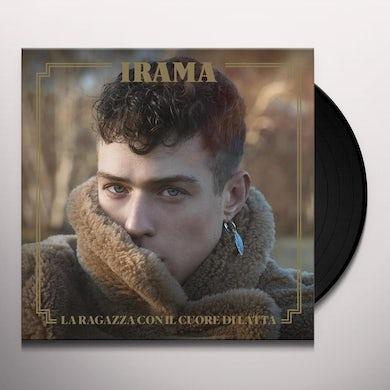 Irama LA RAGAZZA CON IL CUORE DI LATTA Vinyl Record