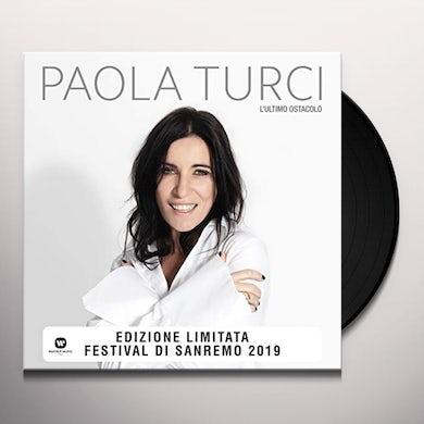 Paola Turci L'ULTIMO OSTACOLO Vinyl Record