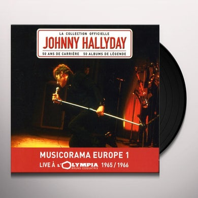 Johnny Hallyday OLYMPIA 1966 Vinyl Record