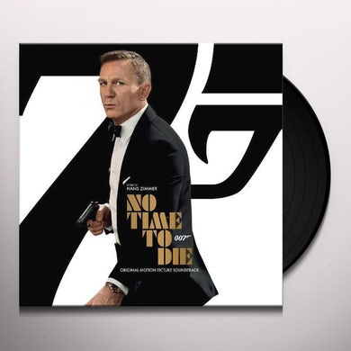 Hans Zimmer NO TIME TO DIE / Original Soundtrack (007 SYMBOL VERSION) Vinyl Record