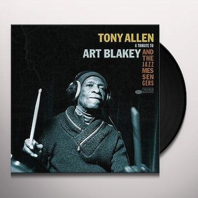 Tony Allen TRIBUTE TO ART Vinyl Record