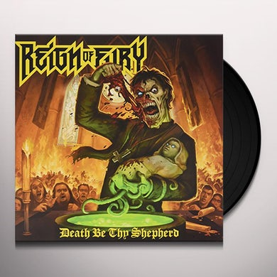Reign Of Fury DEATH BE THY SHEPHERD Vinyl Record