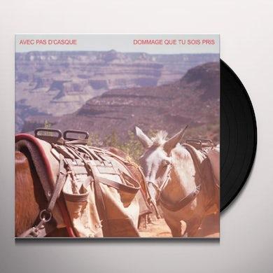 DOMMAGE QUE TU SOIS PRIS EP Vinyl Record