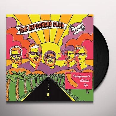 Explorers Club CALIFORNIA'S CALLIN YA / NATURE BOY Vinyl Record - UK Release