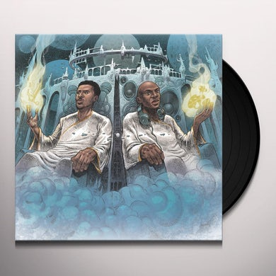 Blu & Nottz GODS IN THE SPIRIT TITANS IN THE FLESH Vinyl Record