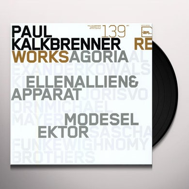 Paul Kalkbrenner REWORKS Vinyl Record