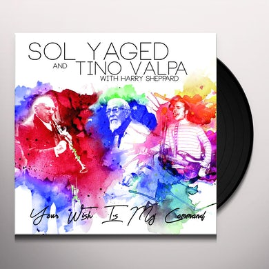 Sol Yaged & Tino Valpa YOUR WISH IS MY COMMAND Vinyl Record