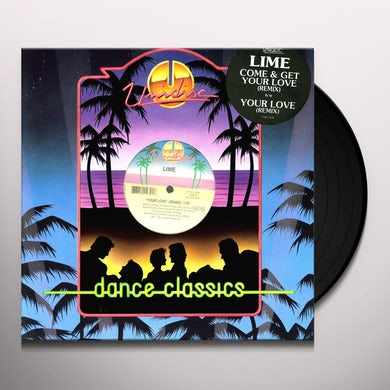 Lime COME & GET YOUR LOVE Vinyl Record