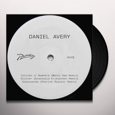 Daniel Avery SONG FOR ALPHA REMIXES - ONE Vinyl Record