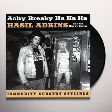 Hasil Adkins ACHY BREAKY HA HA HA Vinyl Record