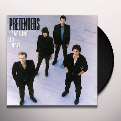 The Pretenders LEARNING TO CRAWL Vinyl Record