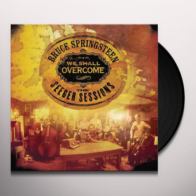 Bruce Springsteen WE SHALL OVERCOME THE SEEGER SESSIONS Vinyl Record