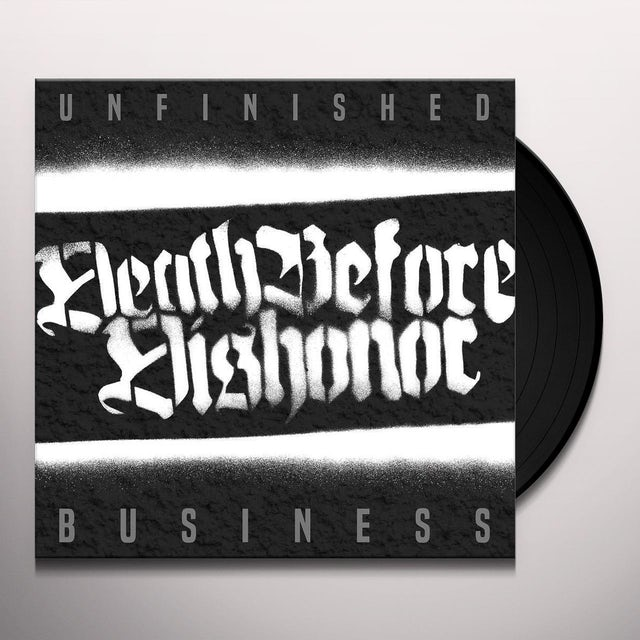 Death Before Dishonor UNFINISHED BUSINESS Vinyl Record