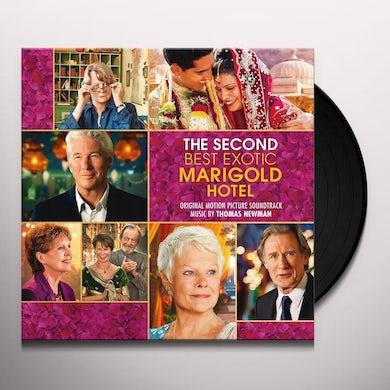 Thomas Newman SECOND BEST EXOTIC MARIGOLD HOTEL - Original Soundtrack Vinyl Record
