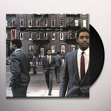 Branford Marsalis SCENES IN THE CITY Vinyl Record - 180 Gram Pressing, Holland Release